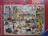 貓拼圖 before 2014:Crazy Cats... in the craft room