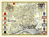 Antique map of British:Map of Hampshire.JPG