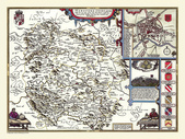 Antique map of British:Map of Herefordshire.JPG