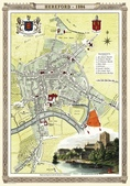 Antique map of British:Map of Hereford.JPG