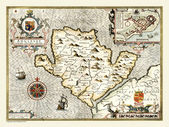 Antique map of British:Map of Anglesey.JPG