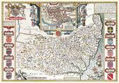 Antique map of British:Map of Suffolk.JPG