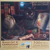 移山仍須努力:# 6-6 Black Cat by Candlelight