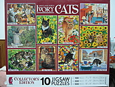 貓拼圖 before 2014:10 in 1 Ivory Cats