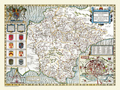 Antique map of British:Map of Devonshire.JPG