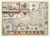 Antique map of British:Map of Cornwall.JPG