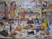 貓拼圖 before 2014:Crazy Cats... in the craft room - 1