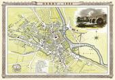Antique map of British:Map of Derby.JPG