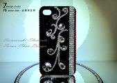 Apple_iphone__貼鑽設計:7-Design 工作室_Swarovski 元素_手機貼鑽_iphone 4s 古典花紋 R_水晶 水鑽設計-1.jpg