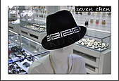 seven chen_水晶_水鑽_鑲鑽_燙鑽_設計:seven chen_Made with Swarovski Elements_帽子貼鑽_時尚_紳士帽_貼鑽-2.