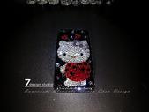 Apple_iphone__貼鑽設計:7-Design 工作室_Swarovski 元素_手機貼鑽_iphone 4s 保護殼_瓢蟲 Kitty_水晶 水鑽 貼鑽設計-1.jpg