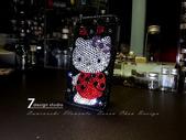 Apple_iphone__貼鑽設計:7-Design 工作室_Swarovski 元素_手機貼鑽_iphone 4s 保護殼_瓢蟲 Kitty_水晶 水鑽 貼鑽設計-2.jpg