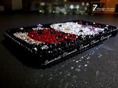 Apple_iphone__貼鑽設計:7-Design 工作室_Swarovski 元素_手機貼鑽_iphone 4s 保護殼_瓢蟲 Kitty_水晶 水鑽 貼鑽設計-5.jpg