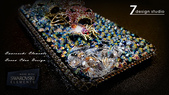 Apple_iphone__貼鑽設計:7-Design 工作室_Swarovski 元素_手機貼鑽_iphone 5_Skull 極致閃耀 春夏版_水晶 水鑽 貼鑽設計-5.jpg