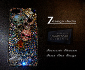 Apple_iphone__貼鑽設計:7-Design 工作室_Swarovski 元素_手機貼鑽_iphone 5_Skull 極致閃耀 春夏版_水晶 水鑽 貼鑽設計-6.jpg