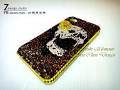 Apple_iphone__貼鑽設計:7 Design 工作室_Swarovski 元素_手機貼鑽_iphone 4s 保護殼 Yellow Rose_skull_水晶 水鑽 貼鑽設計-6.jpg