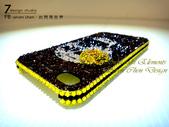 Apple_iphone__貼鑽設計:7 Design 工作室_Swarovski 元素_手機貼鑽_iphone 4s 保護殼 Yellow Rose_skull_水晶 水鑽 貼鑽設計-12.jpg
