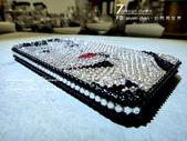 Apple_iphone__貼鑽設計:7-Design工作室_Swarovski元素_手機貼鑽_i phone 4s_奧黛麗赫本_水晶 水鑽 貼鑽設計-6.jpg