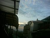 補考天:陽台拍的