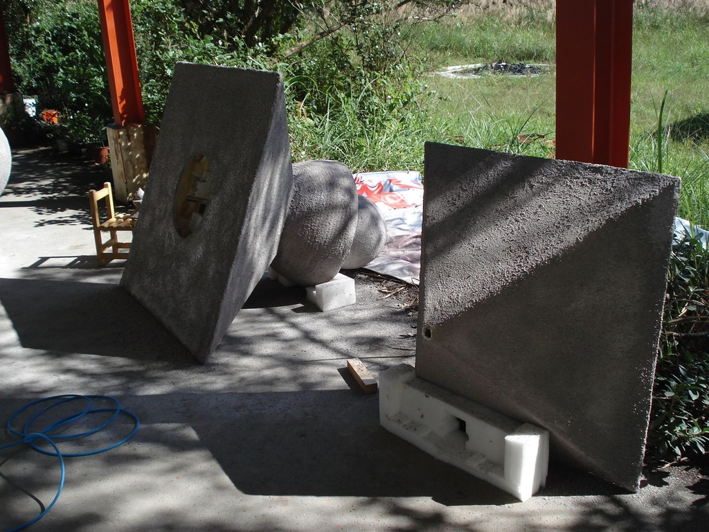 造塔-塗佈-水泥與石頭漆:DSC00505.JPG