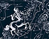 西洋星座手繪線描圖:Centaurus, Crux   -   Центавр, Южный Крест.JPG