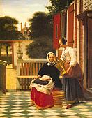 世界傳世名畫:主妇和女仆.jpg