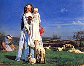世界傳世名畫:可爱的羔羊.jpg