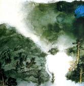 中國現代十大名家之張大千作品欣賞 :慈湖图.jpg