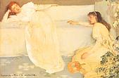 世界傳世名畫:白色交响曲,第3号:白衣少女.jpg
