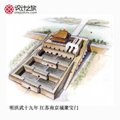 中国经典古建筑剖视图:8d3084dbgw1dyc32eofsqj.jpg
