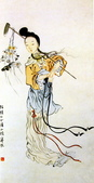 中國現代十大名家之齊白石作品欣賞:仕女图.jpg