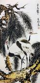 中國現代十大名家之李苦禪作品欣賞:白鸟鹤鹤.jpg