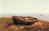 世界傳世名畫:老  船.jpg