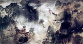 中國現代十大名家之張大千作品欣賞 :庐山图2.jpg