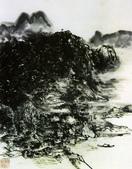 中國現代十大名家之黃賓虹作品欣賞:水墨山水5.jpg