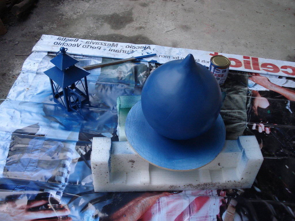 造塔-塗佈-防水與上色:DSC00207.JPG