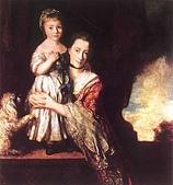 世界傳世名畫:伯爵夫人和女儿.JPG