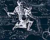 西洋星座手繪線描圖:Aquarius   -   Водолей.JPG