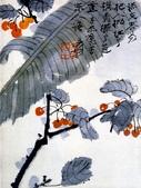 中國現代十大名家之張大千作品欣賞 :樱桃芭蕉.jpg