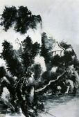 中國現代十大名家之黃賓虹作品欣賞:水墨水山.jpg