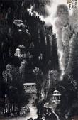 中國現代十大名家之李可染作品欣賞:月牙山图.jpg