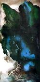 中國現代十大名家之張大千作品欣賞 :泼墨青绿山水3.jpg