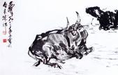 中國現代十大名家之黃冑作品欣賞:水牛图卷.jpg