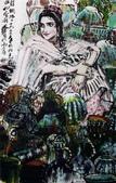 中國現代十大名家之黃冑作品欣賞:古丝绸路上.jpg