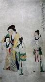 中國現代十大名家之張大千作品欣賞 :贵妃扶醉图.jpg