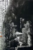 中國現代十大名家之李可染作品欣賞:水墨胜处色无功.jpg