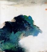 中國現代十大名家之張大千作品欣賞 :阔浦遥山3.jpg