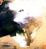 中國現代十大名家之張大千作品欣賞 :春山积翠1.jpg