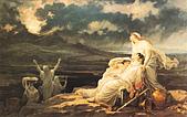 世界傳世名畫:1879年8月23日,维苏威火山爆发.jpg