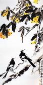 中國現代十大名家之李苦禪作品欣賞:五月枇杷正满林.jpg